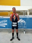 Laurence Corbett at the World Duathlon Championships held in Spain