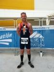 Laurence Corbett at the World Duathlon Championships held in Spain